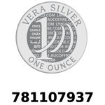 Réf. 781107937 Vera Silver 1 once (LSP)  2018 - REVERS