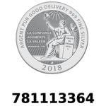 Réf. 781113364 Vera Silver 1 once (LSP)  2018 - REVERS