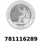 Réf. 781116289 Vera Silver 1 once (LSP - 40MM)  2018 - REVERS