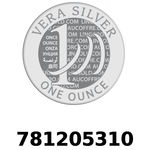 Réf. 781205310 Vera Silver 1 once (LSP - 40MM)  2018 - REVERS