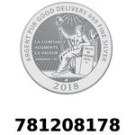 Réf. 781208178 Vera Silver 1 once (LSP)  2018 - REVERS