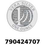 Réf. 790424707 Vera Silver 1 once (LSP)  2018 - REVERS