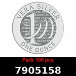 Lot 100 Vera Silver 1 once (LSP - 40MM)  2018