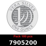 Lot 100 Vera Silver 1 once (LSP)  2018