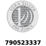 Réf. 790523337 Vera Silver 1 once (LSP - 40MM)  2018 - REVERS