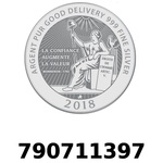 Réf. 790711397 Vera Silver 1 once (LSP - 40MM)  2018 - REVERS
