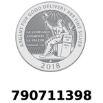 Réf. 790711398 Vera Silver 1 once (LSP - 40MM)  2018 - REVERS