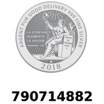 Réf. 790714882 Vera Silver 1 once (LSP - 40MM)  2018 - REVERS