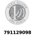 Réf. 791129098 Vera Silver 1 once (LSP)  2018 - REVERS