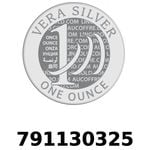 Réf. 791130325 Vera Silver 1 once (LSP - 40MM)  2018 - REVERS