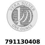 Réf. 791130408 Vera Silver 1 once (LSP - 40MM)  2018 - REVERS