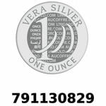 Réf. 791130829 Vera Silver 1 once (LSP - 40MM)  2018 - REVERS