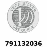 Réf. 791132036 Vera Silver 1 once (LSP - 40MM)  2018 - REVERS