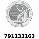 Réf. 791133163 Vera Silver 1 once (LSP - 40MM)  2018 - REVERS