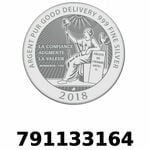 Réf. 791133164 Vera Silver 1 once (LSP - 40MM)  2018 - REVERS
