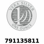 Réf. 791135811 Vera Silver 1 once (LSP - 40MM)  2018 - REVERS