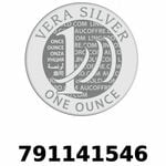 Réf. 791141546 Vera Silver 1 once (LSP - 40MM)  2018 - REVERS