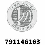 Réf. 791146163 Vera Silver 1 once (LSP - 40MM)  2018 - REVERS