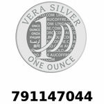 Réf. 791147044 Vera Silver 1 once (LSP)  2018 - REVERS