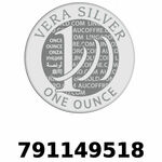 Réf. 791149518 Vera Silver 1 once (LSP - 40MM)  2018 - REVERS