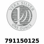 Réf. 791150125 Vera Silver 1 once (LSP - 40MM)  2018 - REVERS