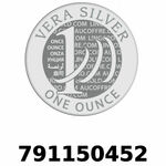 Réf. 791150452 Vera Silver 1 once (LSP - 40MM)  2018 - REVERS