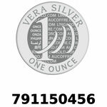 Réf. 791150456 Vera Silver 1 once (LSP - 40MM)  2018 - REVERS