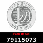 Réf. 79115073 Lot 10 Vera Silver 1 once (LSP)  2018 - REVERS