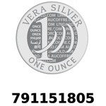 Réf. 791151805 Vera Silver 1 once (LSP)  2018 - REVERS