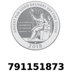 Réf. 791151873 Vera Silver 1 once (LSP - 40MM)  2018 - REVERS
