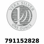 Réf. 791152828 Vera Silver 1 once (LSP)  2018 - REVERS