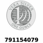 Réf. 791154079 Vera Silver 1 once (LSP - 40MM)  2018 - REVERS