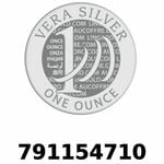 Réf. 791154710 Vera Silver 1 once (LSP - 40MM)  2018 - REVERS