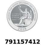 Réf. 791157412 Vera Silver 1 once (LSP - 40MM)  2018 - REVERS