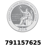 Réf. 791157625 Vera Silver 1 once (LSP - 40MM)  2018 - REVERS