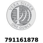 Réf. 791161878 Vera Silver 1 once (LSP - 40MM)  2018 - REVERS