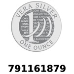 Réf. 791161879 Vera Silver 1 once (LSP - 40MM)  2018 - REVERS