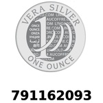 Réf. 791162093 Vera Silver 1 once (LSP - 40MM)  2018 - REVERS