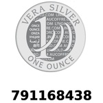 Réf. 791168438 Vera Silver 1 once (LSP - 40MM)  2018 - REVERS