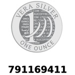Réf. 791169411 Vera Silver 1 once (LSP - 40MM)  2018 - REVERS