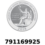 Réf. 791169925 Vera Silver 1 once (LSP - 40MM)  2018 - REVERS