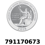 Réf. 791170673 Vera Silver 1 once (LSP - 40MM)  2018 - REVERS