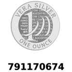 Réf. 791170674 Vera Silver 1 once (LSP - 40MM)  2018 - REVERS