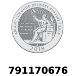 Réf. 791170676 Vera Silver 1 once (LSP - 40MM)  2018 - REVERS
