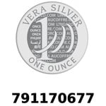 Réf. 791170677 Vera Silver 1 once (LSP - 40MM)  2018 - REVERS