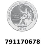 Réf. 791170678 Vera Silver 1 once (LSP - 40MM)  2018 - REVERS