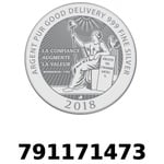 Réf. 791171473 Vera Silver 1 once (LSP - 40MM)  2018 - REVERS