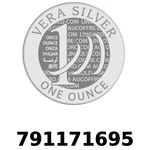 Réf. 791171695 Vera Silver 1 once (LSP - 40MM)  2018 - REVERS