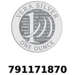 Réf. 791171870 Vera Silver 1 once (LSP - 40MM)  2018 - REVERS