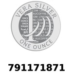 Réf. 791171871 Vera Silver 1 once (LSP - 40MM)  2018 - REVERS